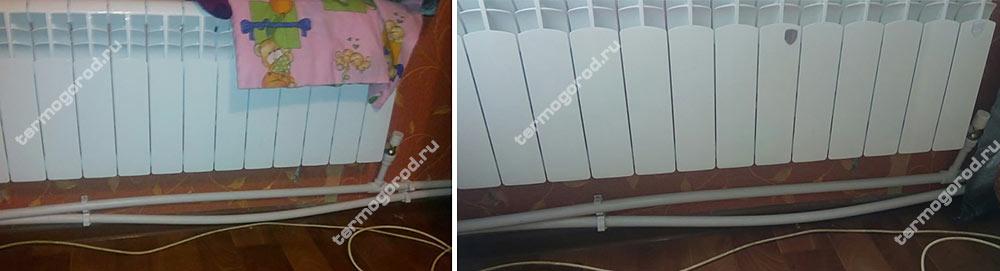 Температурная деформация пластиковых труб отопления