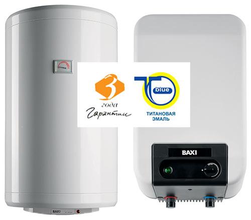 Электрические накопительные водонагреватели BAXI EXTRA