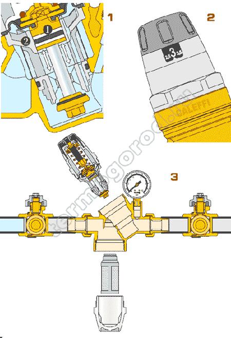 caleffi 5351 конструктивные особенности