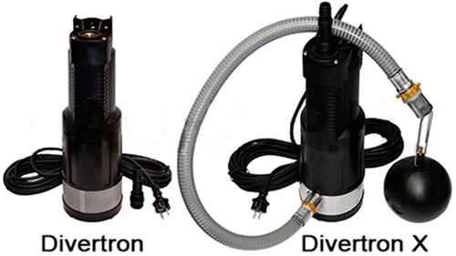 Колодезные насосы DAB Divertron и Divertron X