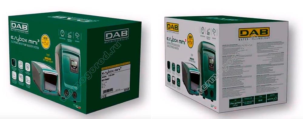 dab esybox mini упаковка