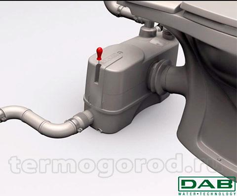 Разборка автоматической насосной станции для перекачки сточных вод DAB GENIX при помощи одного винта