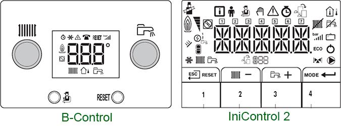 Панели управления B-Control и IniControl 2