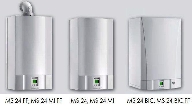 Модели настенных газовых котлов DE DIETRICH MS 24