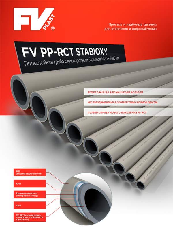 трубопровод FV-Plast PP-RCT