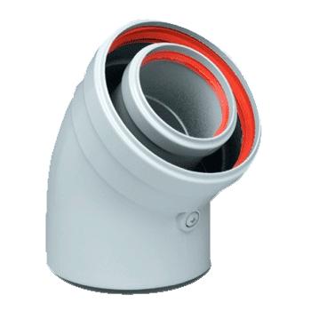 Коаксиальный дымоход для конденсационного котла