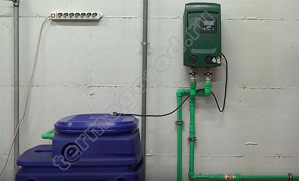 Смонтированная насосная станция Esybox mini