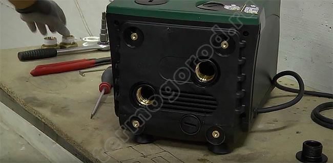 Вид Изибокс мини после удаления заглушек станции E.sybox mini