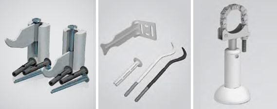Наборы кронштейнов для крепления радиаторов Роял Термо