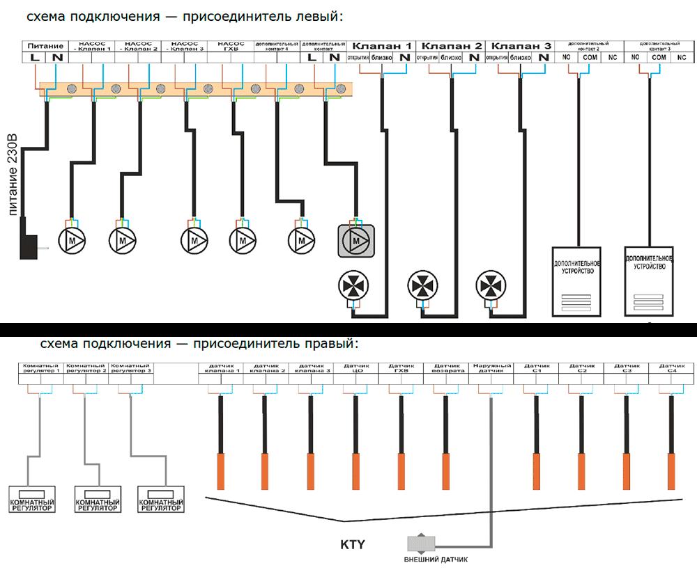 tech st 409n схема подключения