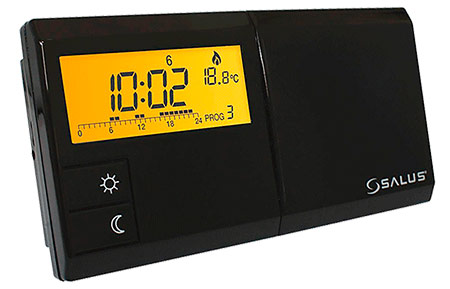 Проводной недельный термостат для отопления Salus 091FL