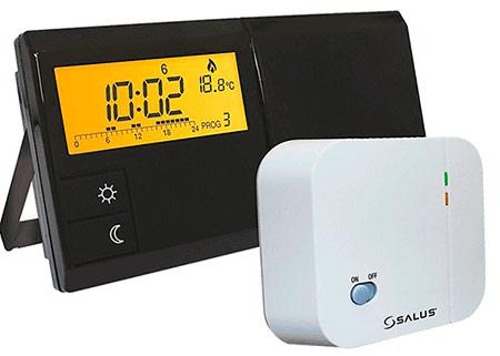 Бесроводной недельный термостат для отопления Salus 091FL