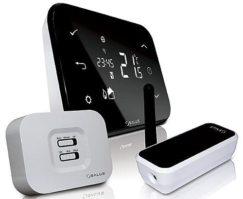 Электронный термостат с управлением через интернет