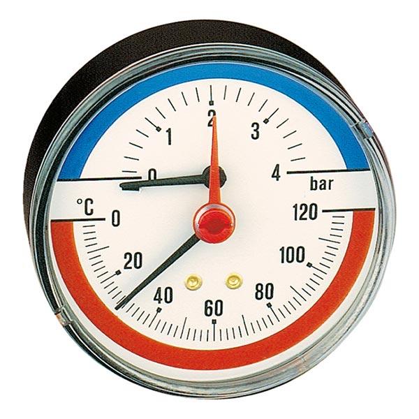 термоманометр caleffi
