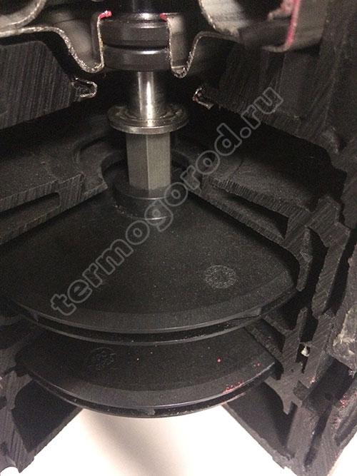 Рабочие колеса из технополимера насоса Divertron 1000 M