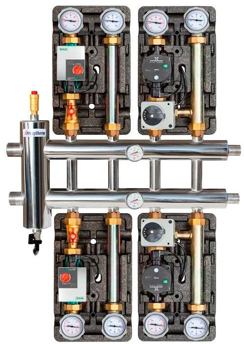 коллектор прокситерм gsk 32 5 монтаж с насосной группой