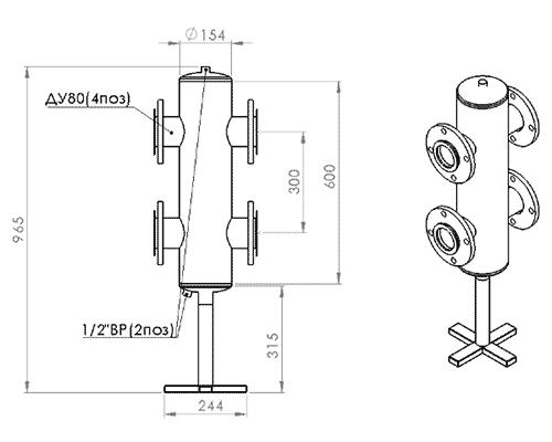 прокситерм GS 80F размеры