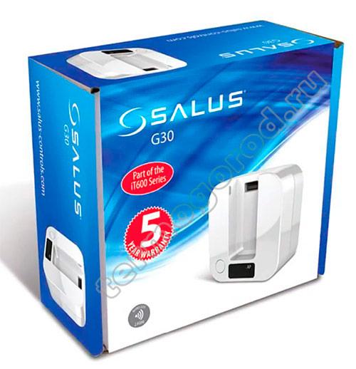 Salus G30 в упаковке
