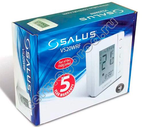 Salus VS20WRF в упаковке