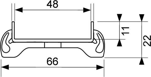 геометрические размеры лотка для укладки плитки 601070