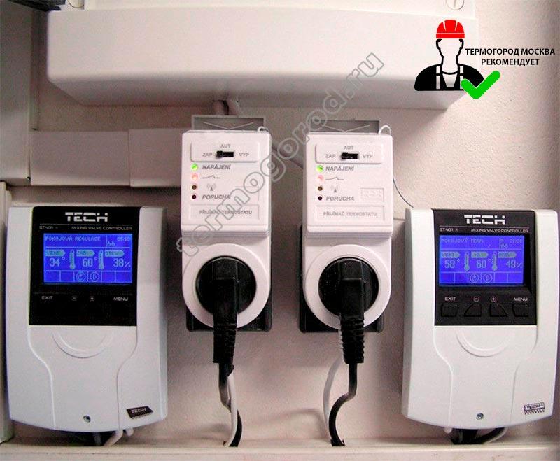 tech-st431n монтаж