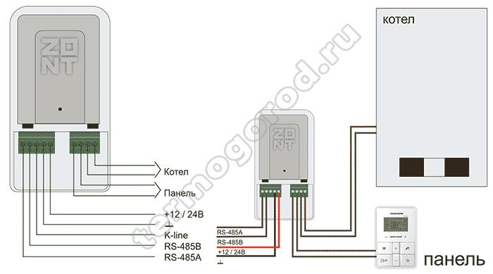 zont adapter navien eco схема подключения 1