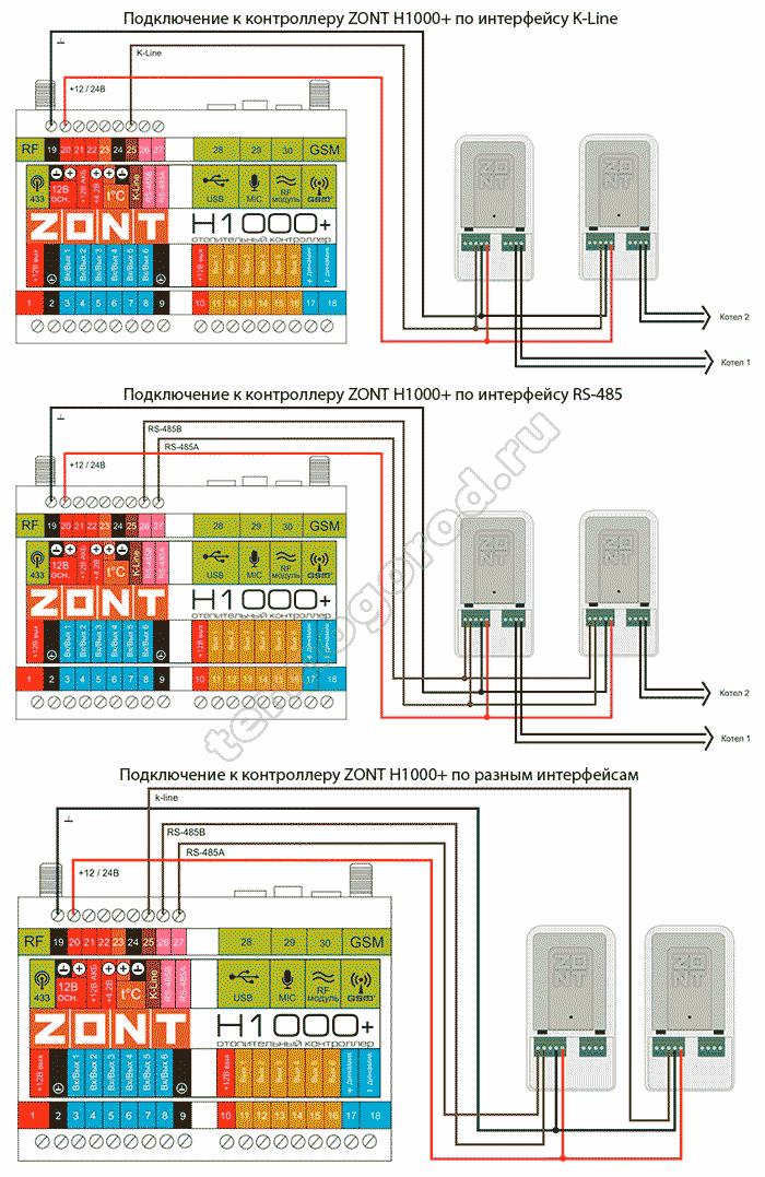 zont adapter navien eco схема подключения 4
