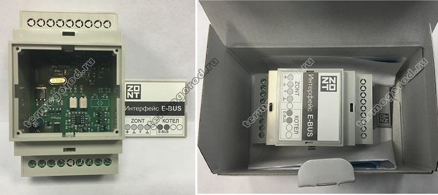 Внешний вид адаптера Zont E-BUS