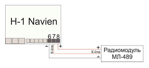 Zont H-1 Navien подключение к МЛ-489