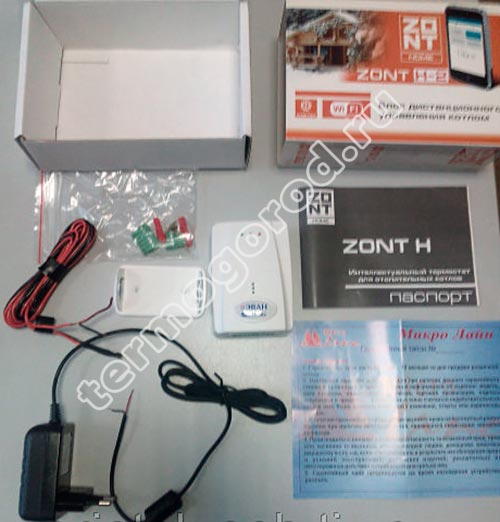 ZONT H-2 Wi-Fi-Climate