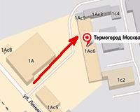 Где находится офис компании Термогород Москва