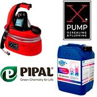 Средства для очистки систем отопления и промывочные насосы X-PUMP