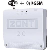 Zont SMART 2.0 Отопительный GSM/GPRS/Wi-Fi контроллер